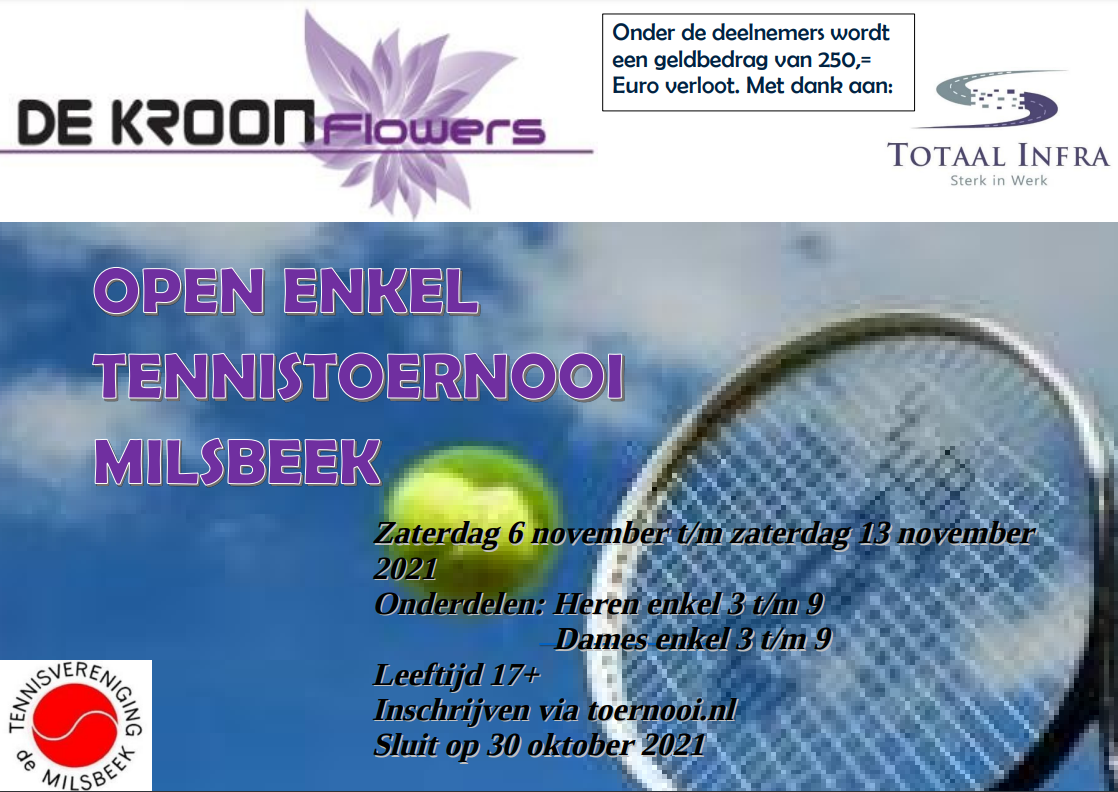 Open enkel toernooi